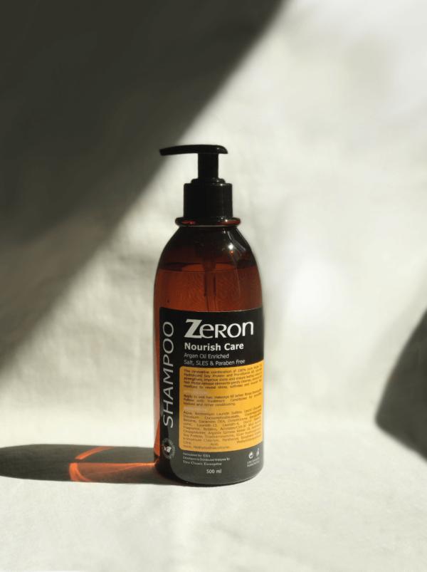 zeron nourish care shampoo 500ml