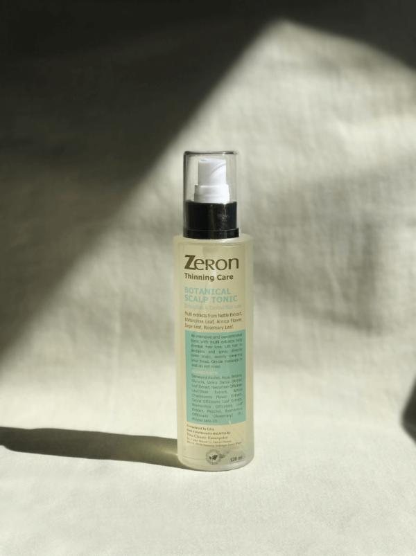 zeron botanical thinning scalp tonic