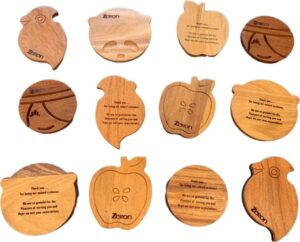 Zeron Limited Edition Wood Coaster